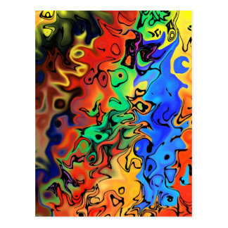 No haste: Abstract 44 Postcard