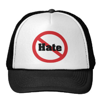 No Hate Mesh Hats