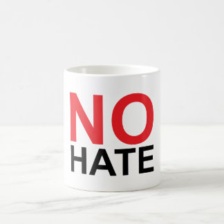 No Hate Coffee Mug
