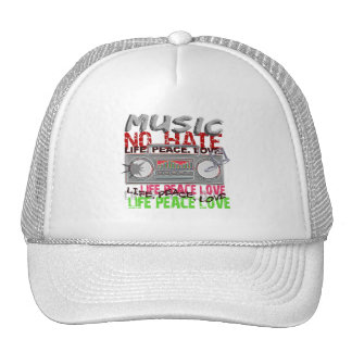 No Hate Music hat