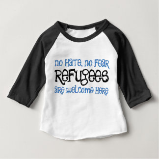 No hate, no fear baby/toddler tee