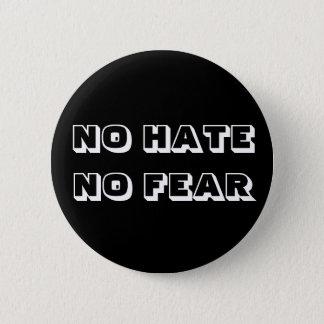 No hate no fear badge