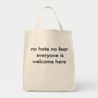 no hate no fear everyone is welcome here