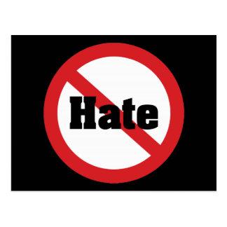 No Hate Postcard
