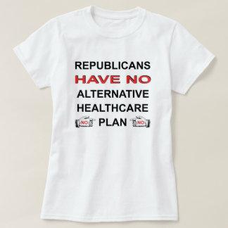 NO HEALTHCARE PLAN T-SHIRT