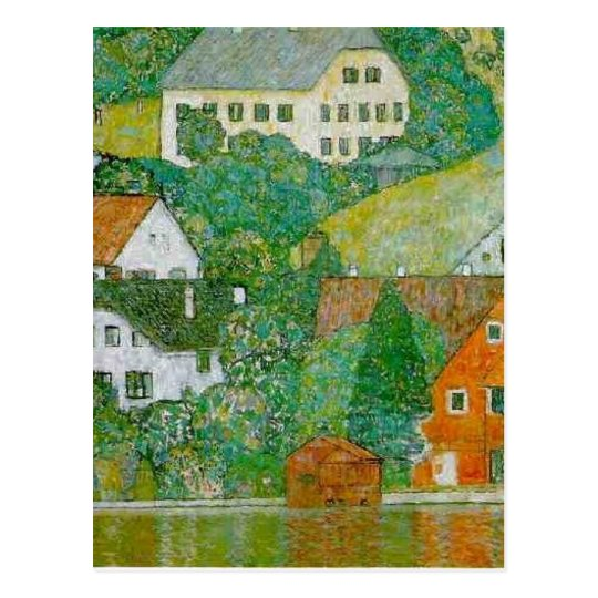 No higher resolution available. Klimt-Unterach_am_ Postcard