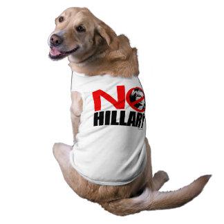 NO HILLARY BOLD SLEEVELESS DOG SHIRT