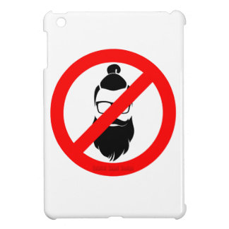 No Hipsters or Man Buns iPad Mini Cover