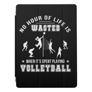 No Hour Wasted When Playing Volleyball iPad Pro Cover