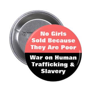 no human trafficking or slavery pin