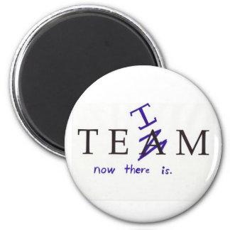 No I in Team? Magnet