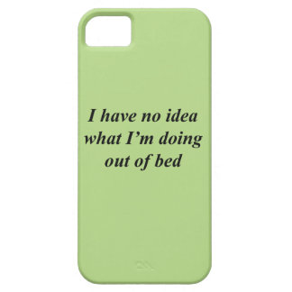"""""""No Idea"""" FUNNY shirts, accessories, gifts Barely There iPhone 5 Case"""