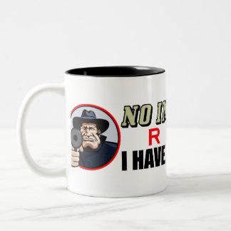 No Insurance? Two-Tone Coffee Mug
