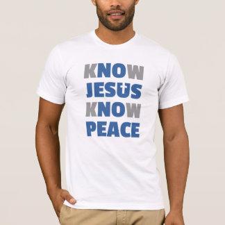 No Jesus No Peace - Know Jesus Know Peace T-Shirt