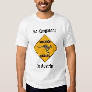No Kangaroos In Austria Shirt