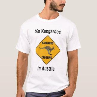 No Kangaroos In Austria T-Shirt