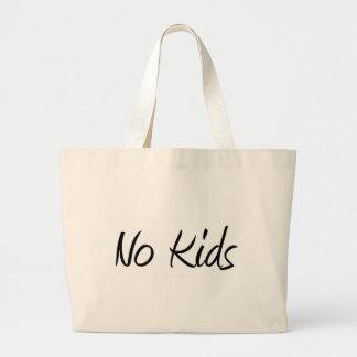 No Kids #1 Jumbo Tote Bag