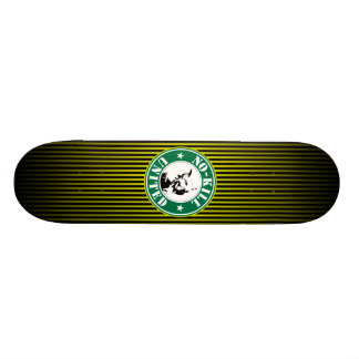 NO-KILL UNITED : LOGOSKT3065-STRPFD-YB SKATEBOARD DECK