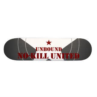 NO-KILL UNITED : RECT3065-MWG 21.6 CM OLD SCHOOL SKATEBOARD DECK