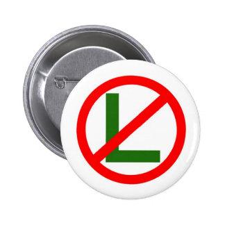 No - L Noel Christmas Button