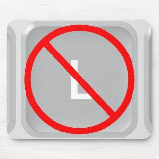 No L (Noel) Key Mouse Pad