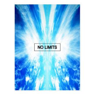 No limits postcard