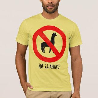 No Llamas T-Shirt