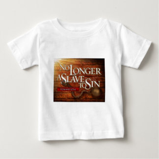 No Longer a Slave to Sin Baby T-Shirt