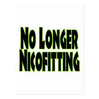 No Longer Nicofitting Postcard