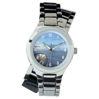 No Looking Back Reminder Silver Wrap Watch