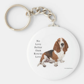 No Love Better than Rescue Love Key Ring