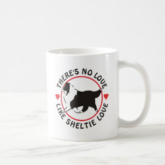 No Love Like Sheltie Love Coffee Mug