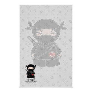 No Love! Ninja Stationery