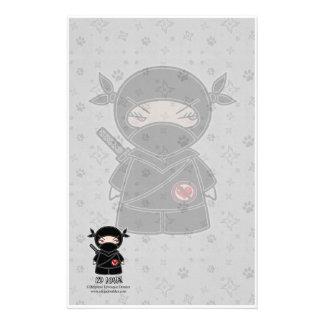 No Love! Ninja Stationery