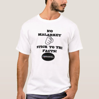 NO MALARKEY T-SHIRT,OBAMA 2012 T-Shirt