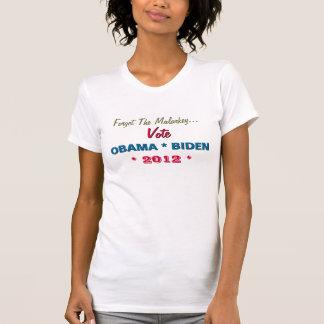 No Malarkey Vote OBAMA BIDEN T-Shirt