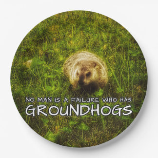 No man is a failure who has Groundhogs plates