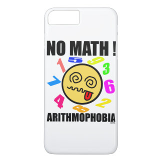 No math! Arithmophobia iPhone 8 Plus/7 Plus Case