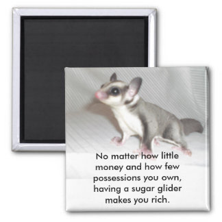 No matter how little money and how fe... square magnet