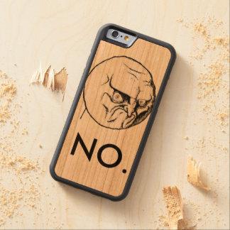 """NO."" meme Cherry iPhone 6 Bumper"