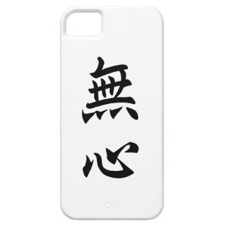No Mind = 無心, Japanese Kanji Barely There iPhone 5 Case