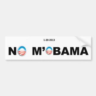 NO MOBAMA Bumper Sticker