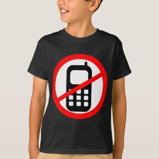 No Mobile Phones Symbol T-Shirt