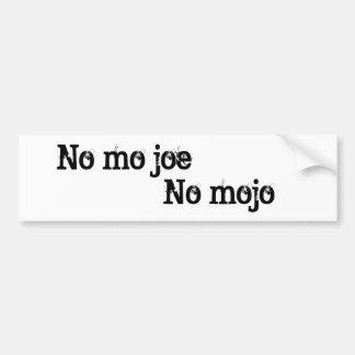 No Mojo Bumper Sticker