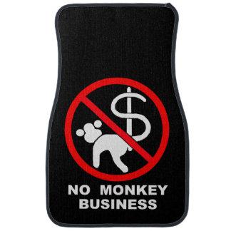 No monkey business car mat