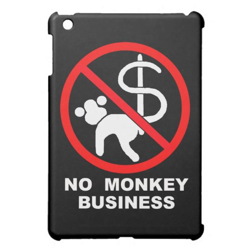 No monkey business cover for the iPad mini
