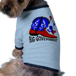 No More Big Government Pet Tshirt