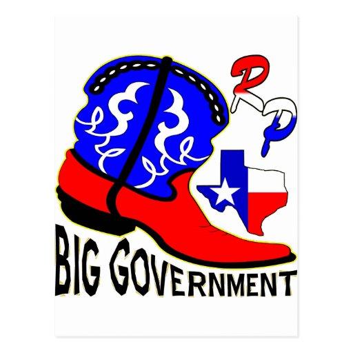 No More Big Government Postcard