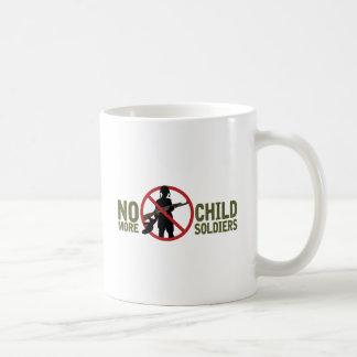 No More Child Soldiers Basic White Mug