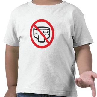 No more dia press! Toilet trainedness Shirt